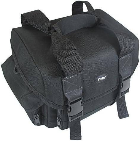 Magenta Travel Carrying Case Camcorder Bag for Canon VIXA HF R80 R800 R82 G20 R70 R700 R72 Mini X