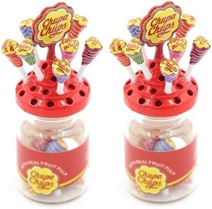 1//12 dollhouse miniature jar simulation accessories food dessert model toys