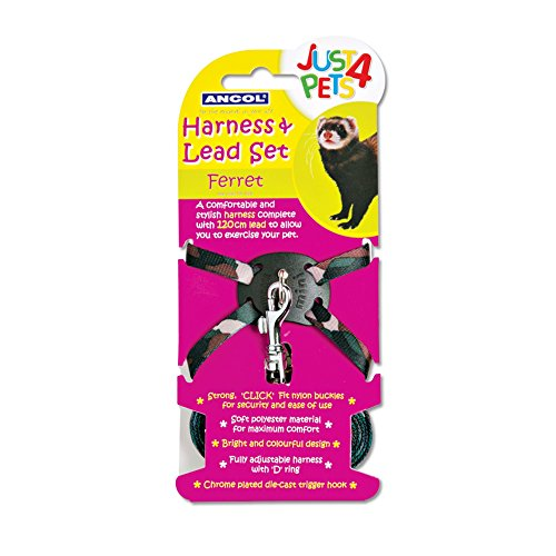 Ferret Nylon Harness - 8