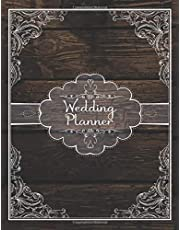 Wedding Planner: Complete Wedding Planner Book And Organizer For Brides : Lace and Wood Rustic Cover Design