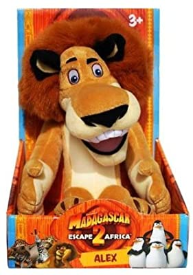Alex The Lion Madagascar Escape 2 Africa Hooga Loo Plush Amazon Sg Toys Games