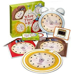 eeBoo What Time is it? Time Telling Game