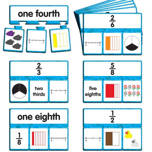 EAI Education Snap Math - Fractions Puzzle: Grade 3