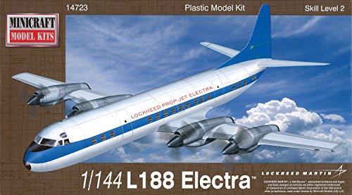Minicraft L-188 Electra Demonstrator Model Kit (1/144 Scale)