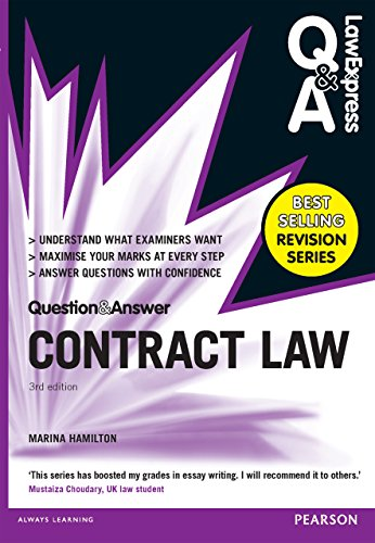 Law Express Question and Answer: Contract Law (Q&A revision guide) (Law Express Questions & Answers) (Express Law Contract Law)