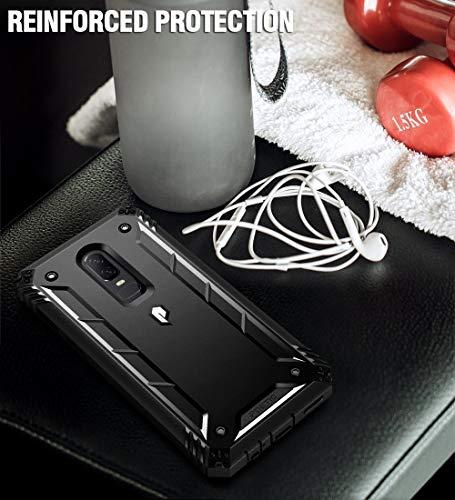 Poetic OnePlus 6 Rugged Case, Revolution [360 Degree