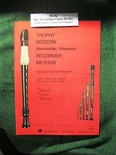 (Trophy Modern Elementary Recorder)