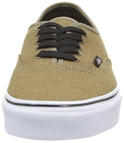 Vans Authentic - Zapatillas, Unisex adulto Marrón (jute/walnut/black)