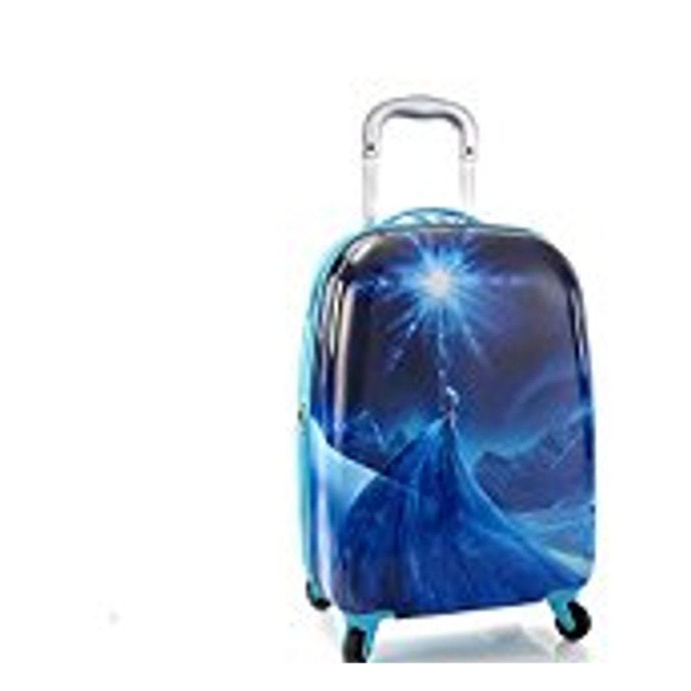 Disney Frozen Elsa 20 Carry-on Spinner Luggage, Tween Carry-on