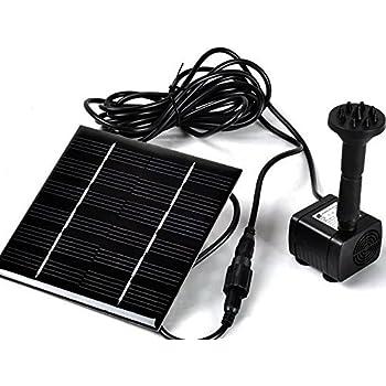 Amazon Com Generic 1 2 Watt Solar Power Water Pump