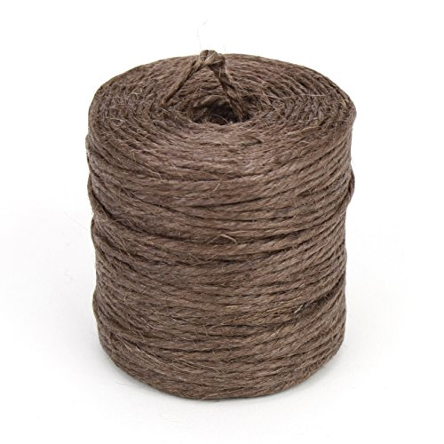 Kel-Toy Jute Rope 3 Ply 75yd/Spool-Brown