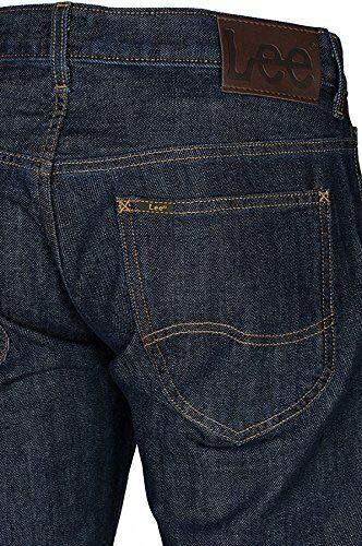 Vita Uomo Jeans Cotone 32l36 Bassa Gamba Da Dritta Scuro Di Svasati Elasticizzato Blu L722agna Knox Denim Lee In Taglia Pantaloni qZEdnwEC