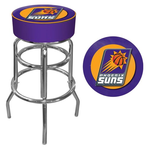 Trademark Gameroom NBA Phoenix Suns Padded Swivel Bar Stool by Trademark Gameroom