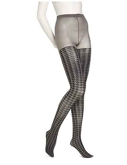dd808de5b3e0e No nonsense Fashion Tights Opaque Sheer Houndstooth Tights S/M at ...