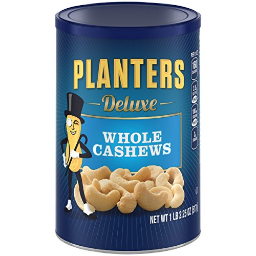 Planters Deluxe Whole Cashew Ounces product image