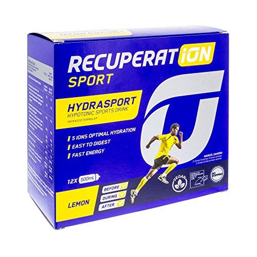 Recuperation Hydrasport Lemon Flavour 12 envelopes x 20 g by Recuperat-ion Sport by Recuperat-ion Sport
