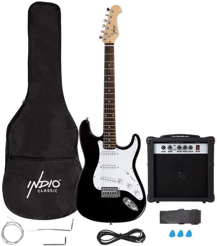 625904 Monoprice 6 String Solid-Body Electric Guitar,