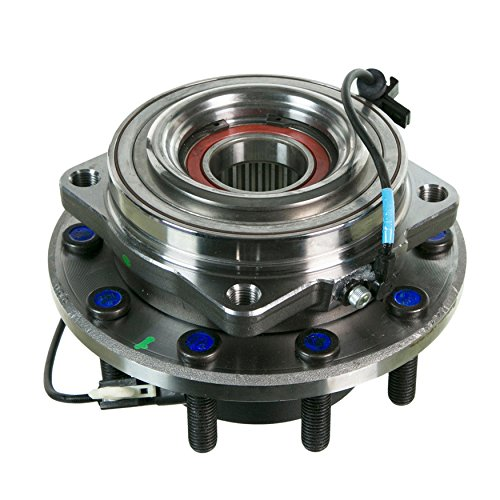 Detroit Axle - New Complete Driver or Passenger Front Wheel Hub and Bearing Assembly for 2011-16 Ford F-450 F-550 Super Duty 2WD Cab & Chassis Models ONLY