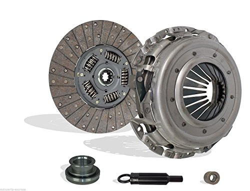Clutch Kit Works With Chevy Gmc Suburban Van Silverado Sierra Base LT LS Cheyenne Sportvan 1985-1995 5.7L V8 CNG OHV 5.7L V8 GAS OHV 6.5L V8 DIESEL OHV Naturally Aspirated