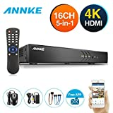 ANNKE 16 Channel Surveillance DVR 3MP/1080P Security Digital Video Recorder with Intelligent Motion Detection & Mobile Push Alert, NO HDD Included