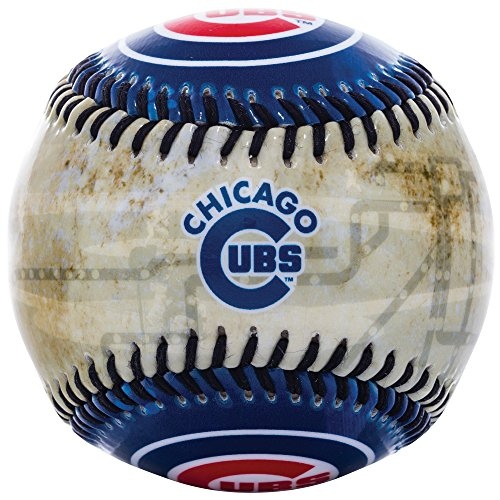 Cubs Logo Baseball - Franklin Sports MLB Cubs Soft Strike City Baseball