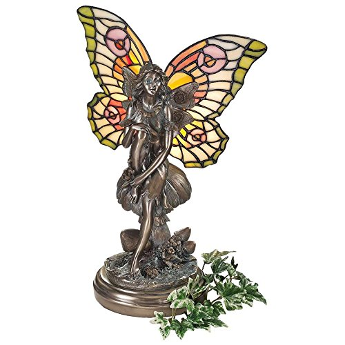 Design Toscano Fairy of the Glen Tiffany-Style Stained Glass Illuminated Sculpture for $<!--$117.90-->
