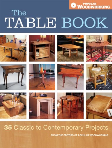 Amazon Com The Table Book 35 Classic To Contemporary Projects