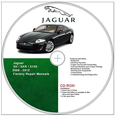 Jaguar XK /XKR X150 Type Workshop Manual and Wiring Diagrams ... on
