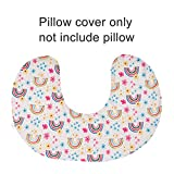ALVABABY Stretchy Pillow Cover Soft and Comfortable