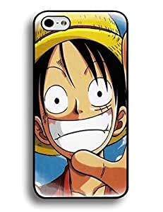 Classic One Piece Anime Print Plastic Case Cover for Iphone 6 Plus (5.5)