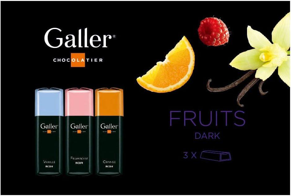 Galler ガレー チョコレート ミニバー3個入 (フルーツ)