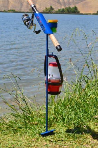 SamsOutdoorsman MiniFighter Fishing Rod Holder BLUE