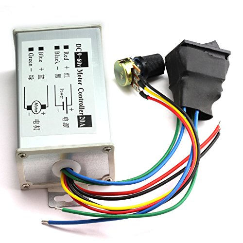 Dc 9-60v 20a Pwm Ac Motor Speed Regulator Controller Module Home Improvement Motors & Parts