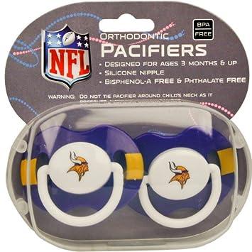 Amazon.com: NFL chupetes 2 unidades de última intervensión ...