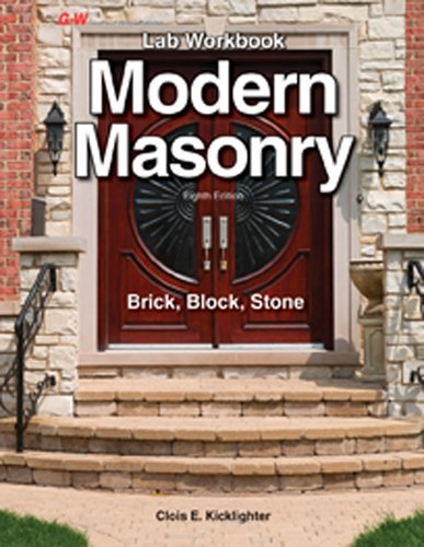 Modern Masonry: Brick, Block, Stone Lab Workbook