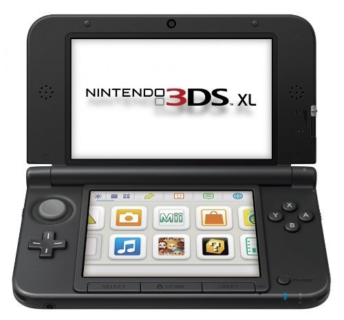 Nintendo 3DS XL Handheld System - Red/Black (Renewed)