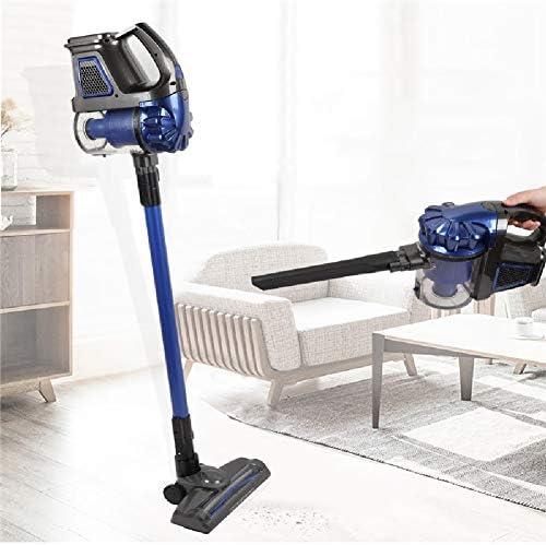 Liuwenju Aspirateur Balai sans Fil sans Sac 7500 pa Puissant Phare LED, Multifonction, 2 Vitesses, pour Maison, Poils d\'animaux, Voiture