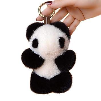 MNCJD Llavero Cute Panda Style Mochila Colgante Coche ...