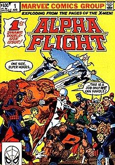 Alpha Flight (1983 series) #1