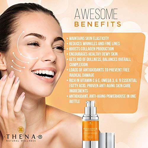 51dJcONXXSL - Anti aging Face Oil Serum With Vitamin C & E Hyaluronic Acid Jojoba Argan Rosehip Essential Oils, Organic Natural Facial Moisturizer Lotion Best Beauty Product For Dry Sensitive Skin Care Women Men
