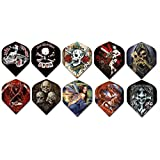 5 sets (15 pieces) of Alchemy Standard Size Dart Flights - Assorted Designs