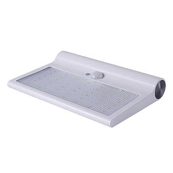 AOKARLIA Lamparas Solares , 42Led LáMpara Solar Impermeable Con Sensor Movimiento Foco Detectores Para JardíN Patio