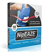 NipEaze - 4pack Value - The Original Transparent Nip Protector - Nipple Chafing Prevention