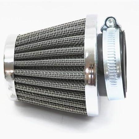 2/x 38/39/40/mm Filtre /à air dadmission Nettoyant pour ATV Dirt Pit Bike Quad m/étrique Scooter Cruiser Chopper
