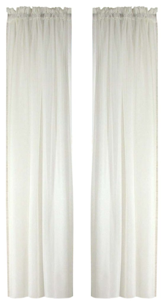 grommet loha panels kitchen com white linen with piece panel pair winter curtain top window amazon home dp exclusive
