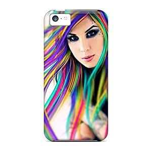 For Iphone 5c Hard Phone Case Cover(kat)