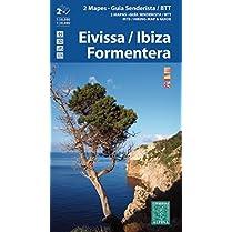 EivissaIbiza-Formentera-2-mapas-excursionistas-Guas-excursionista-y-BTT