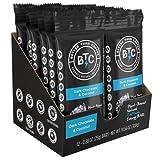 Better Than Coffee Energy Bars, Dark Chocolate & Coconut, Gluten Free, 12 count (70% Dark Chocolate Coconut, 12 count)
