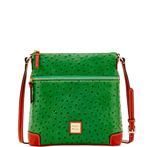 Bourke Ostrich - Dooney & Bourke Ostrich Crossbody Shoulder Bag