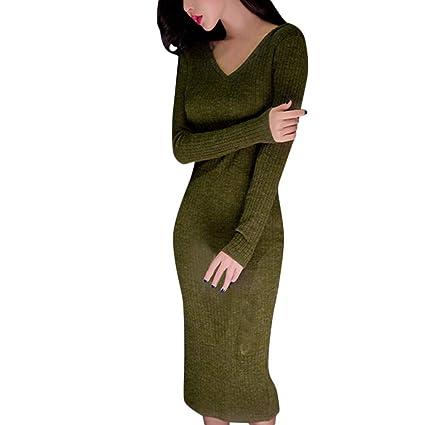 Saihui Women Dress - Abito da donna invernale 467b46b87dd